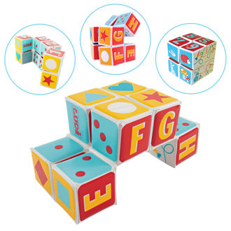 Picture of Rabbit Magic Cube - Baby Play - Soft Play - Ludi Toys