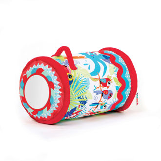 Picture of Jungle Fabric Baby Roller - Soft Play - Baby Play - Ludi