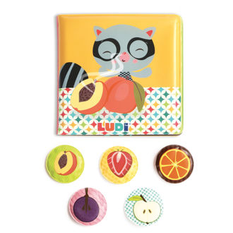 Picture of Book with Fruits Smell - Soft Play - Baby Books - Ludi