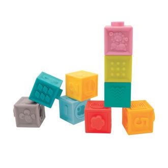 Picture of Interlocking Blocks - Baby Play - Ludi