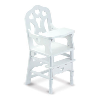 Picture of Wooden Doll High Chair