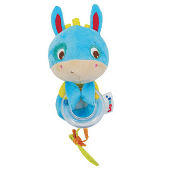 Picture of Sensory Stimulation Rattle - Blue Baby Rattle - Soft Toys - Ludi