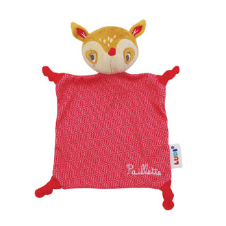 Picture of Baby Plush Cuddly Blanket - Red Baby Soft Toys - Ludi