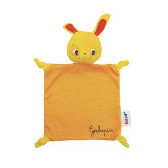 Picture of Baby Plush Cuddly Blanket - Orange Baby Soft Toys - Ludi