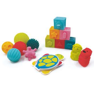 Picture of Sensory Awakening Set - Multicolored - Soft Toys - Baby Toys - Ludi