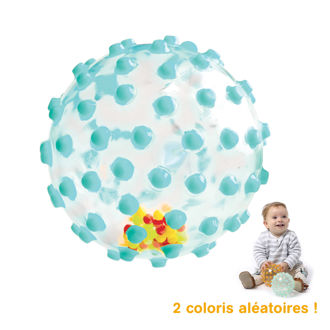 Picture of Clear Message Balls - Green Ball - Soft Play - Baby Play - Ludi