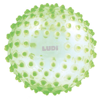 Picture of Green Sensory Ball - Baby Play - Soft Toys - Ludi