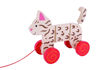 Picture of Wooden Cat Pull Along -Orange Cat - Baby Toy - BigJigs
