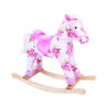 Picture of Floral Rocking Horse - Pink Horse - BigJigs