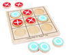 Picture of Noughts and Crosses - Wooden Board Games - BigJigs