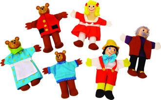 Picture of Finger Puppets - Goldilocks - BigJigs