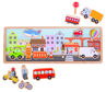 Picture of Magnetic Board - City - Educational Wooden Toys - BigJigs