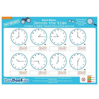 Picture of Secret Scholar - Decode the Time (lvl2) - Educational - BigJigs