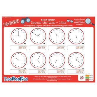 Picture of Secret Scholar - Decode the Time (lvl3) - Educational - BigJigs