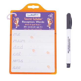 Picture of Secret Scholar Reception Words - Write & Spell for 4-6 ages - Educational - BigJigs
