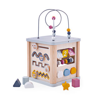 Picture of Activity Cube - Educational Toys - BigJigs