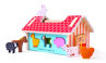 Picture of Farmhouse Sorter - Wooden Educational Toys - BigJigs