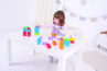 Picture of Click Blocks - Colored - 100 pieces - Educational Toys - Wooden Blocks - BigJigs