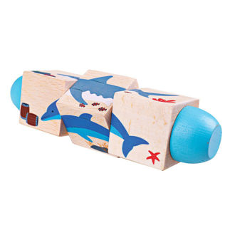 Picture of Under the Sea Twist Blocks - Educational Toys - Baby Play - Baby Toys - BigJigs