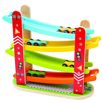 Picture of Car Racer - Wooden Cars - BigJigs
