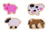 Picture of Two Piece Puzzles - Farm - Wooden Puzzles - BigJigs