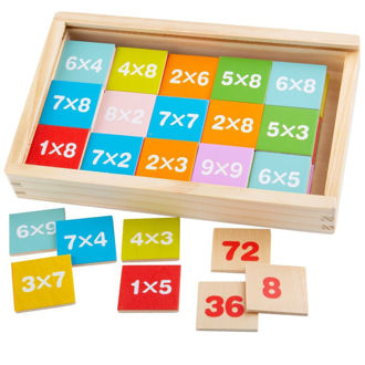 Picture of Times Table Box - Math Educational Aids - BigJigs