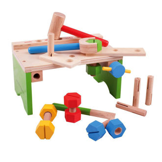 Picture of Carpenter's Bench - Wooden Pretend Play - Construction Toys - BigJigs