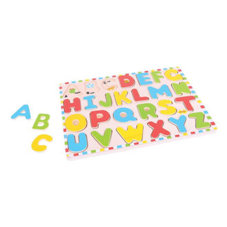 Picture of Uppercase Alphabet Puzzle - Wooden Puzzles - BigJigs