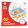 Picture of Magnetic Fishing Game with Base - Wooden Games - BigJigs
