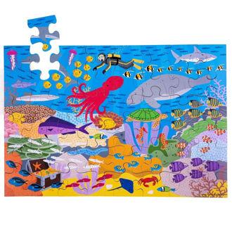Picture of Under the Sea Floor Puzzle (48 pieces) - Puzzles - BigJigs