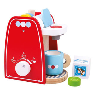 Picture of Coffee Maker - Wooden Pretend Play - Play House - BigJigs