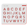 Picture of A to Z uppercase Magnatab - Educational Toys - Play Monster