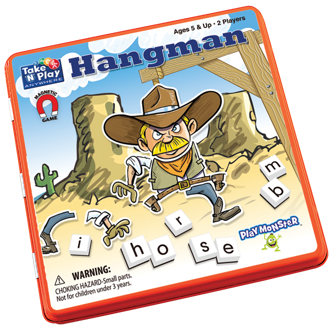 Picture of Take n Play Hangman - Games - Play Monster