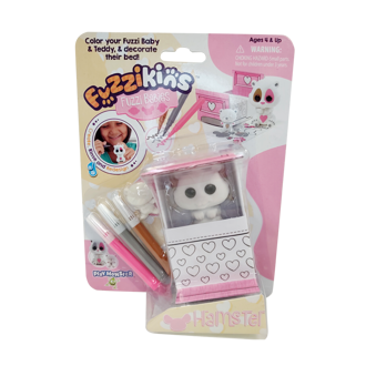 Picture of Fuzzikins Fuzzi Babies Hamster - Toys - Play Monster