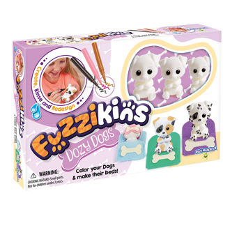 Picture of Fuzzikins - Dozy Dogs- Toys - Play Monster