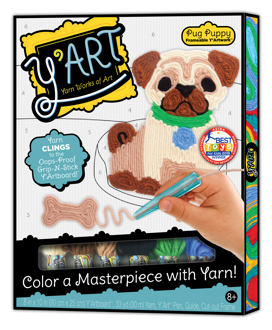 Picture of Y'Art - Pug Puppy - Arts & Craft - Play Monster
