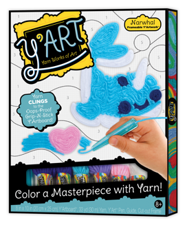 Picture of Y'Art - Narwhal - Arts & Crafts - Play Monster