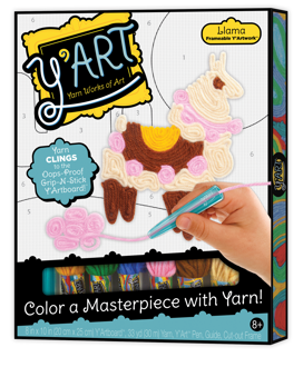 Picture of Y'Art Llama - Arts & Crafts - Play Monster